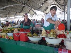 046. Taskent. Bazar Chorsu