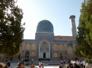 256. Samarcanda. Mausoleo de Gur-E-Amir