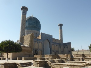 284. Samarcanda. Mausoleo de Gur-E-Amir
