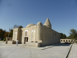 455. Bujara. Mausoleo de Chasma Ayub