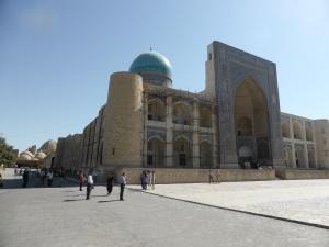 488. Bujara. Mezquita y minarete Kalon