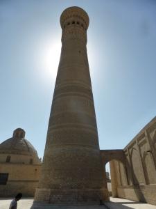 490. Bujara. Mezquita y minarete Kalon
