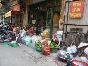 071. Hanoi. Paseo en triciclo por el barrio antiguo