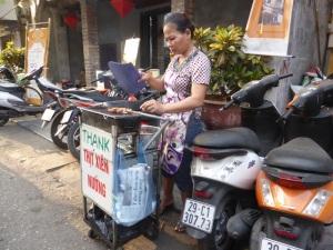 075. Hanoi. Paseo en triciclo por el barrio antiguo