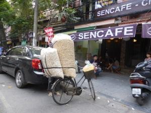 086. Hanoi. Paseo en triciclo por el barrio antiguo