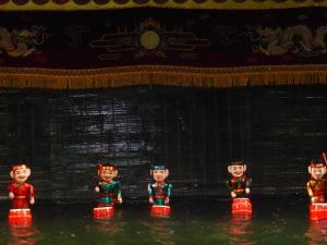 102. Hanoi. Teatro de Marionetas de agua