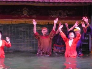108. Hanoi. Teatro de Marionetas de agua
