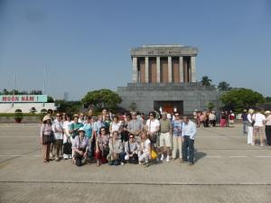 119. Hanoi. Mausoleo de Ho Chi Minh