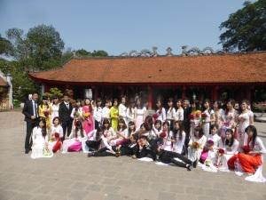 182. Hanoi. Templo de la Literatura