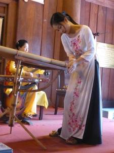 195. Hanoi. Templo de la Literatura. Concierto de música tradicional