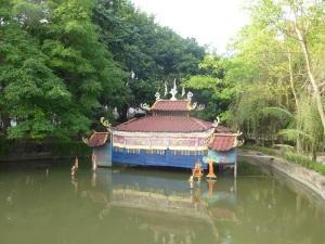 250. Hanoi. Museo Etnológico. Teatro para marionetas de agua