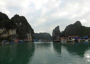 434. Bahía de Halong. Paseo en barca