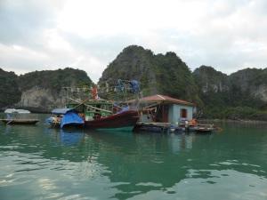 441. Bahía de Halong. Paseo en barca