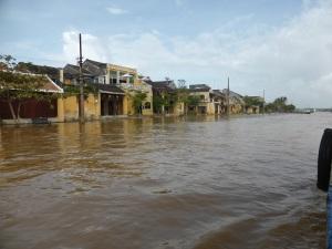 722. Hoi An. Excursión en barca por el río Thu Bon