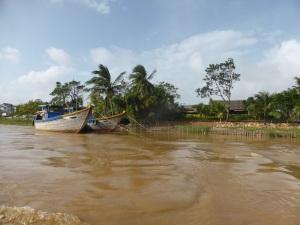732. Hoi An. Excursión en barca por el río Thu Bon