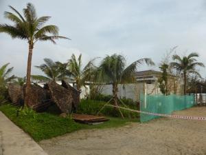 781. Hoi An. Hotel. Preparándose para el tifón