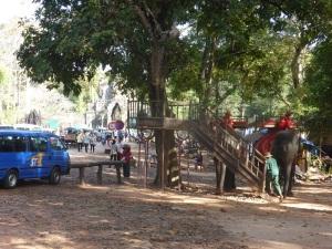 006. Llegada a Angkor Thom