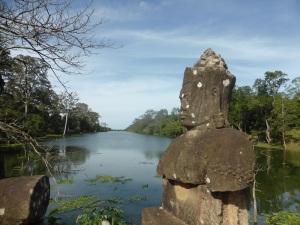 009. Angkor Thom. Puerta sur