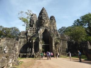 010. Angkor Thom. Puerta sur