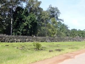051. Angkor Thom. Terraza de los Elefantes