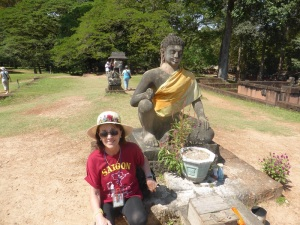 061. Angkor Thom. Terraza del Rey Leproso