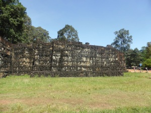 062. Angkor Thom. Terraza del Rey Leproso