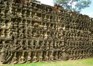 062a. Angkor Thom. Terraza del Rey Leproso