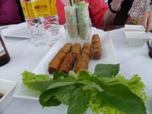 1002. Saigón. Restaurante