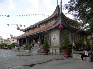 1024. Saigón. Pagoda Chua Vinh Nghiem