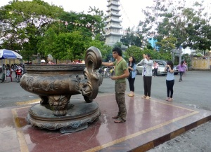 1026. Saigón. Pagoda Chua Vinh Nghiem