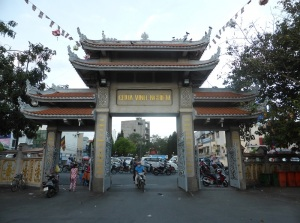 1027. Saigón. Pagoda Chua Vinh Nghiem