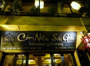 1031. Saigón. Restaurante