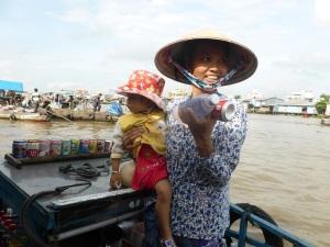 1215. Mercado flotante de Cai Rang