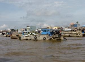 1218. Mercado flotante de Cai Rang