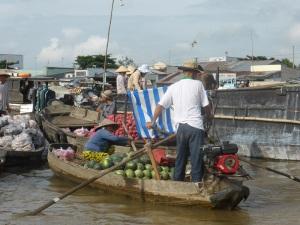 1222. Mercado flotante de Cai Rang
