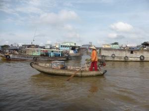 1230. Mercado flotante de Cai Rang