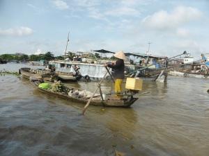 1231. Mercado flotante de Cai Rang