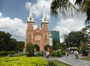 897. Saigón. Catedral de Notre Dame