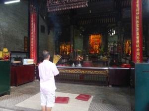 910. Saigón. Pagoda Chua Ba Thien Hau