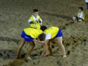 414. Playa Blanca. Lucha canaria