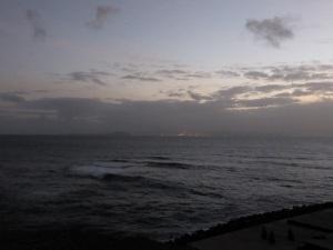 452. Al fondo Fuerteventura desde el Castillo de Las Coloradas
