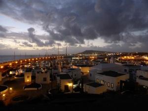 453. Puerto Rubicón y Playa Blanca desde el Castillo de Las Coloradas