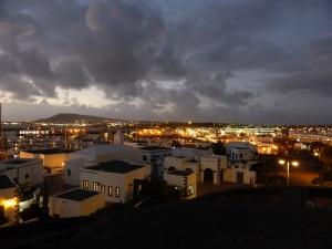 454. Puerto Rubicón y Playa Blanca desde el Castillo de Las Coloradas
