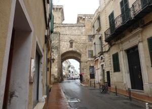 188. Mahón. Portal de San Roque