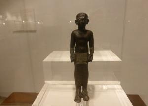 194. Mahón. Museo de Menorca. Figura de Imhotep, procedente de Torre de'n Galmés