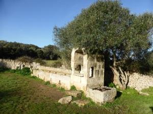 278. Talatí de Dalt. Cisterna y bebederos para el ganado