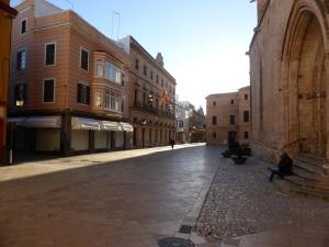 585. Ciudadela. Plaza de la catedral
