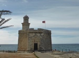 635. Ciudadela. Paseo Marítimo. Torre de San Nicolás