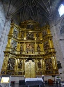 037. Logroño. Santiago el Real. Retablo Altar Mayor a