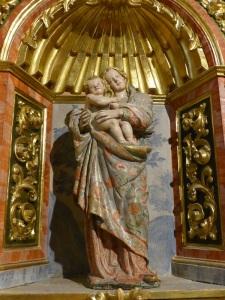137. Santa Casilda. Virgen con Niño, tal vez de Gil de Siloé.
